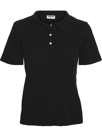 """Noisy may Koszulka polo """"Nmrhinna"""" w kolorze czarnym"""