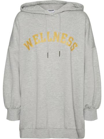 """Noisy may Sweatshirt """"Nmbera"""" lichtgrijs"""