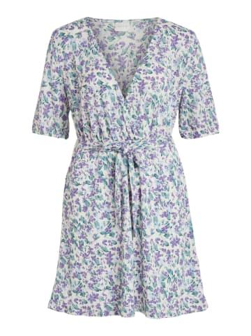 """Vila Sukienka """"Viltin"""" w kolorze fioletowo-zielonym"""