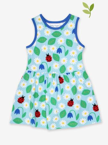 Toby Tiger Sukienka w kolorze błękitnym