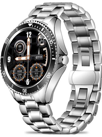 SmartCase Smartwatch in Silber
