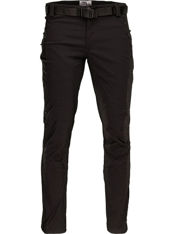 """ROCK EXPERIENCE Spodnie funkcyjne """"Elastic"""" w kolorze czarnym"""