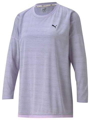 """Puma Koszulka sportowa """"Studio Graphene"""" w kolorze fioletowym"""