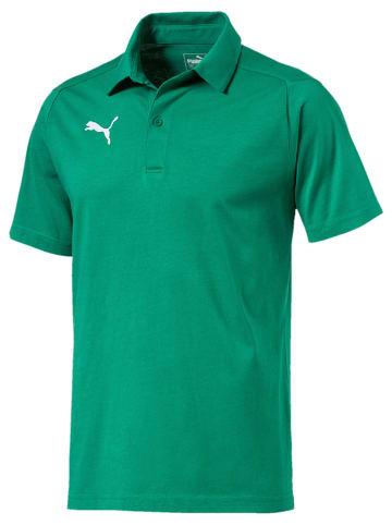 """Puma Koszulka polo """"Liga"""" w kolorze zielonym"""