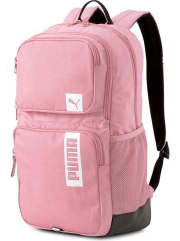 """Puma Plecak """"Deck Backpack II"""" w kolorze jasnoróżowym - 30 x 45 x 12 cm"""