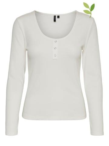 """Vero Moda Koszulka """"HARRIET"""" w kolorze białym"""