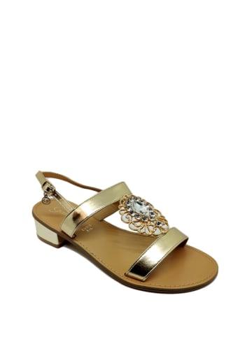 Gardini Sandały w kolorze złotym