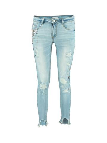 Hailys Spodnie w kolorze jasnoniebieskim
