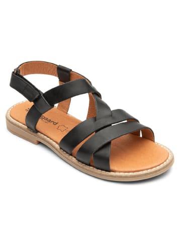 """Bundgaard Skórzane sandały """"Linda"""" w kolorze czarnym"""
