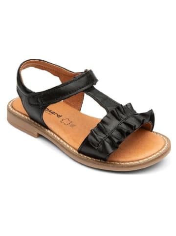 """Bundgaard Skórzane sandały """"Ana"""" w kolorze czarnym"""