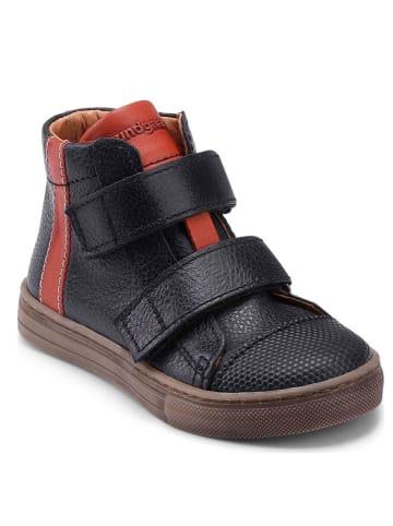 """Bundgaard Skórzane sneakersy """"Deni"""" w kolorze czarnym"""