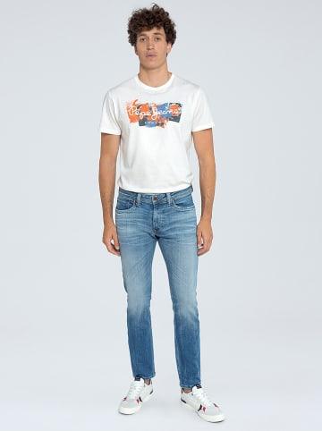Pepe Jeans Dżinsy - Regular fit - w kolorze niebieskim