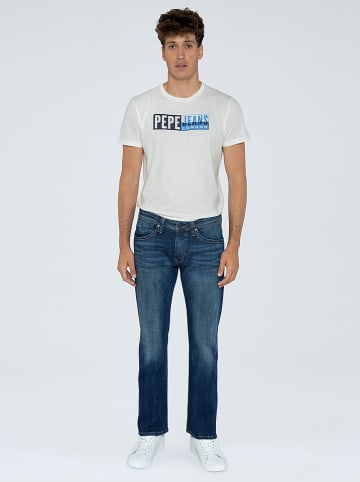 Pepe Jeans Spijkerbroek - regular fit - donkerblauw
