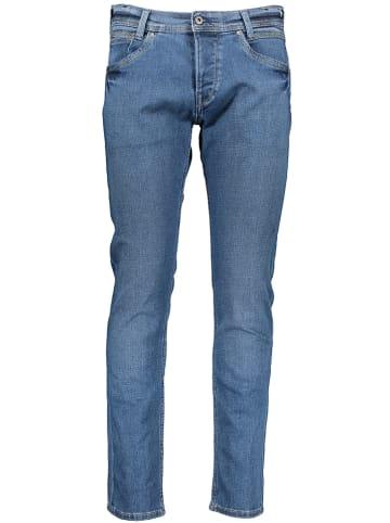 Pepe Jeans Dżinsy - Slim fit - w kolorze niebieskim