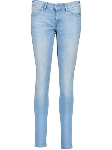 Pepe Jeans Spijkerbroek - skinny fit - lichtblauw