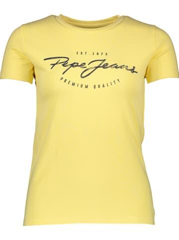 "Pepe Jeans Shirt ""Charleen"" geel"