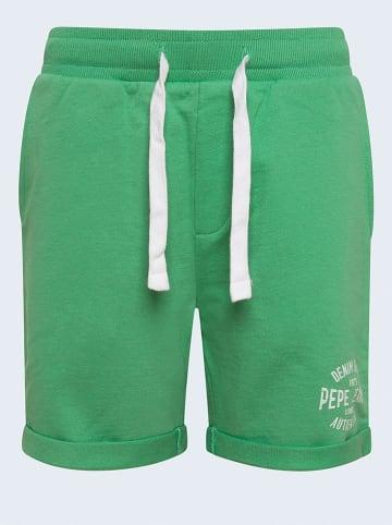 """Pepe Jeans Sweatbermuda """"Charlie"""" groen"""