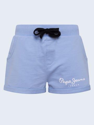 """Pepe Jeans Szorty """"Rosemary"""" w kolorze błękitnym"""