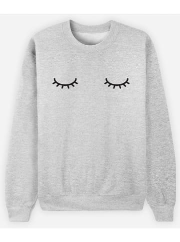 WOOOP Sweatshirt in Grau
