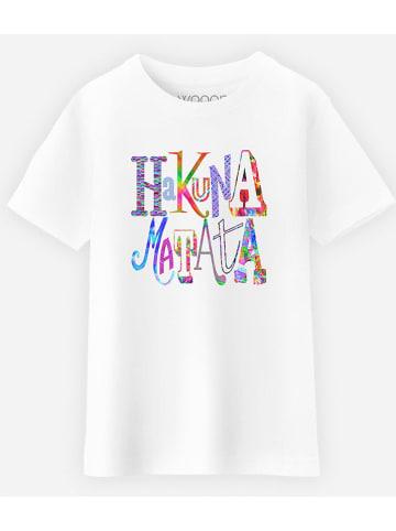 WOOOP Koszulka w kolorze białym