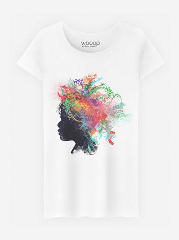 WOOOP Shirt wit