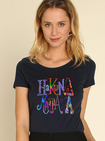 WOOOP Shirt donkerblauw