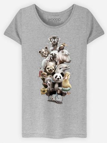 WOOOP Shirt grijs