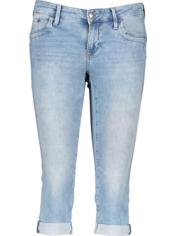 "MAVI Capri-spijkerbroek ""Alma"" - slim fit - lichtblauw"