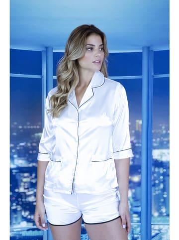 A WOMAN WE LOVE Piżama w kolorze białym