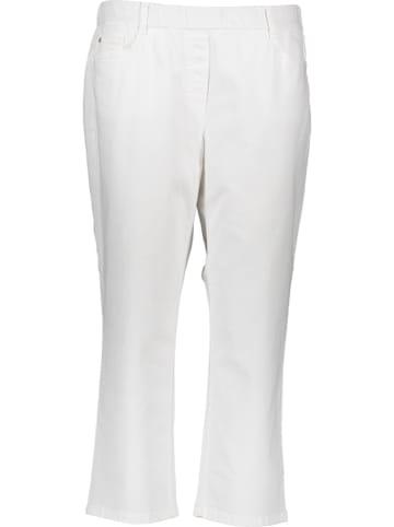 """Stark Spodnie """"Janna"""" - Slim fit - w kolorze białym"""