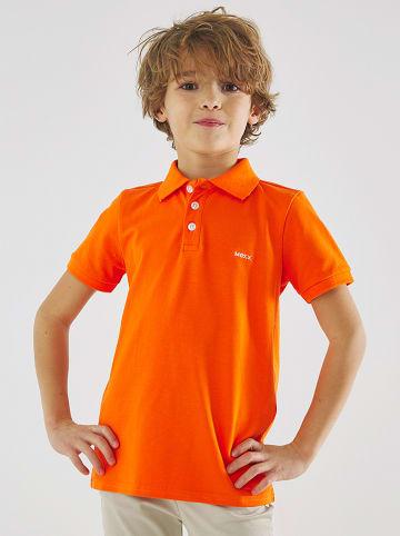 Mexx Koszulka polo w kolorze jaskrawopomarańczowym