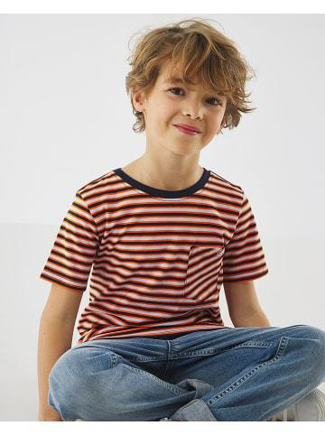 Mexx Shirt donkerblauw/rood