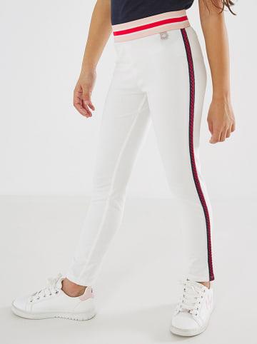 Mexx Legginsy w kolorze białym