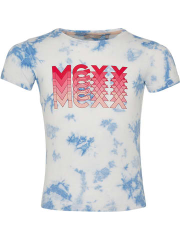 Mexx Shirt wit/lichtblauw