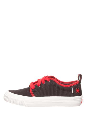 TOMS Sneakersy w kolorze czarno-czerwonym
