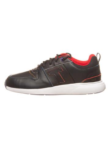 TOMS Leren sneakers zwart