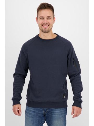 "Alife and kickin Sweatshirt ""Vinn"" in Dunkelblau"
