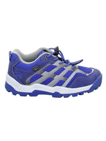 "Lurchi Sneakersy ""Tjark-Tex"" w kolorze niebieskim"