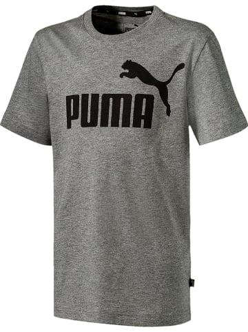 """Puma Koszulka """"Ess"""" w kolorze szarym"""