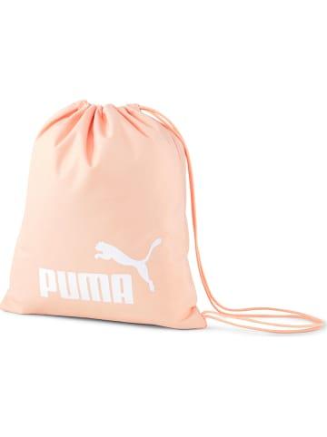 """Puma Worek sportowy """"Phase"""" w kolorze brzoskwiniowym - 36 x 42 cm"""