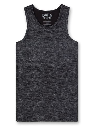 Sanetta Onderhemd zwart