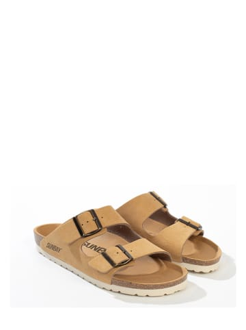 "Sunbay Slippers ""Trefle"" camel"
