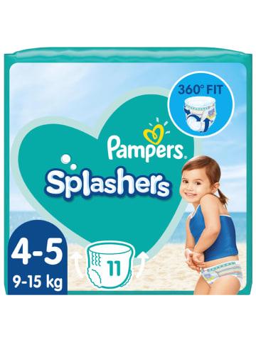 """Pampers Pieluszki kąpielowe (11 szt.) """"Splashers"""" - rozmiar 4-5, 9-15 kg"""