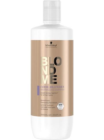 "Schwarzkopf Professional Shampoo ""BM Cool Bl Neutralizing"", 1000 ml"