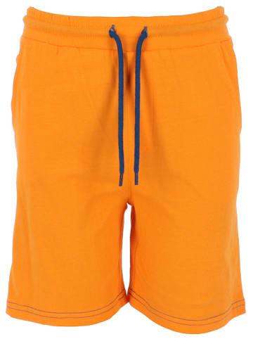 Mexx Szorty dresowe w kolorze pomarańczowym
