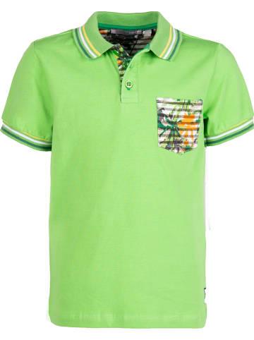 Mexx Koszulka polo w kolorze zielonym