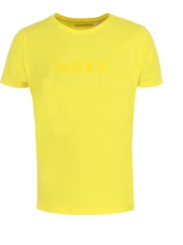 Mexx Koszulka w kolorze żółtym