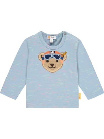 Steiff Koszulka w kolorze błękitnym