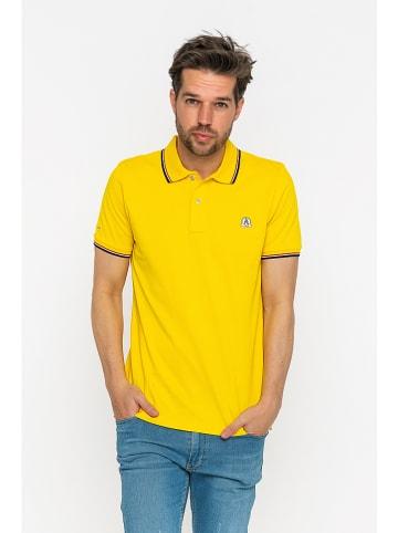 GIORGIO DI MARE Koszulka polo w kolorze żółtym