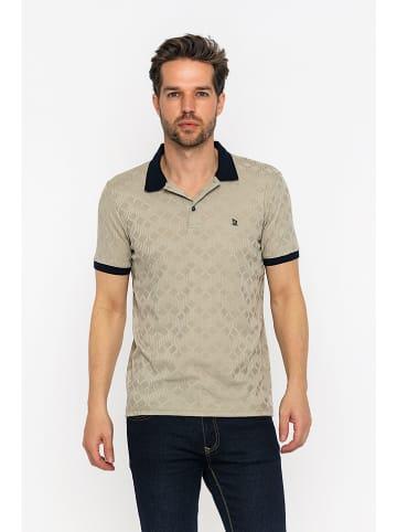 GIORGIO DI MARE Koszulka polo w kolorze beżowym